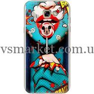 Силиконовый чехол BoxFace Samsung A720 Galaxy A7 2017 Girl Pop Art (27930-up2444)