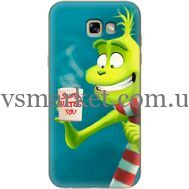 Силиконовый чехол BoxFace Samsung A720 Galaxy A7 2017 Santa Hates You (27930-up2449)