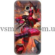 Силиконовый чехол BoxFace Samsung A720 Galaxy A7 2017 Woman Deadpool (27930-up2453)