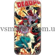 Силиконовый чехол BoxFace Samsung A720 Galaxy A7 2017 Deadpool and Mary Jane (27930-up2454)