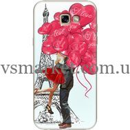 Силиконовый чехол BoxFace Samsung A720 Galaxy A7 2017 Love in Paris (27930-up2460)