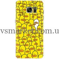 Силиконовый чехол BoxFace Samsung G930 Galaxy S7 Yellow Ducklings (24997-up2428)