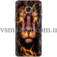 Силиконовый чехол BoxFace Samsung G930 Galaxy S7 Fire Lion (24997-up2437)