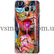 Силиконовый чехол BoxFace Samsung G930 Galaxy S7 Colorful Girl (24997-up2443)