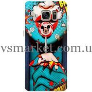 Силиконовый чехол BoxFace Samsung G930 Galaxy S7 Girl Pop Art (24997-up2444)