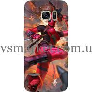 Силиконовый чехол BoxFace Samsung G930 Galaxy S7 Woman Deadpool (24997-up2453)