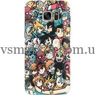 Силиконовый чехол BoxFace Samsung G930 Galaxy S7 Anime Stickers (24997-up2458)