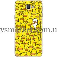 Силиконовый чехол BoxFace Samsung J5 Prime G570F Yellow Ducklings (26814-up2428)