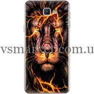 Силиконовый чехол BoxFace Samsung J5 Prime G570F Fire Lion (26814-up2437)