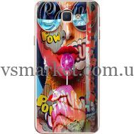 Силиконовый чехол BoxFace Samsung J5 Prime G570F Colorful Girl (26814-up2443)