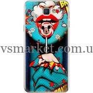Силиконовый чехол BoxFace Samsung J5 Prime G570F Girl Pop Art (26814-up2444)