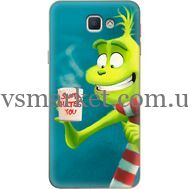 Силиконовый чехол BoxFace Samsung J5 Prime G570F Santa Hates You (26814-up2449)
