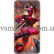 Силиконовый чехол BoxFace Samsung J5 Prime G570F Woman Deadpool (26814-up2453)