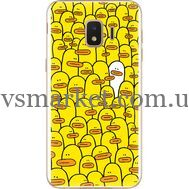 Силиконовый чехол BoxFace Samsung J260 Galaxy J2 Core Yellow Ducklings (35249-up2428)