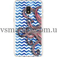 Силиконовый чехол BoxFace Samsung J260 Galaxy J2 Core Sea Tentacles (35249-up2430)