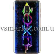 Силиконовый чехол BoxFace Samsung J260 Galaxy J2 Core Graffiti symbols (35249-up2432)