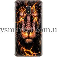 Силиконовый чехол BoxFace Samsung J260 Galaxy J2 Core Fire Lion (35249-up2437)