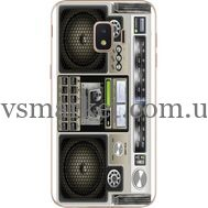 Силиконовый чехол BoxFace Samsung J260 Galaxy J2 Core Old Boombox (35249-up2446)
