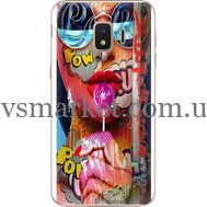 Силиконовый чехол BoxFace Samsung J260 Galaxy J2 Core Colorful Girl (35249-up2443)
