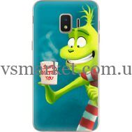 Силиконовый чехол BoxFace Samsung J260 Galaxy J2 Core Santa Hates You (35249-up2449)