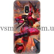 Силиконовый чехол BoxFace Samsung J260 Galaxy J2 Core Woman Deadpool (35249-up2453)