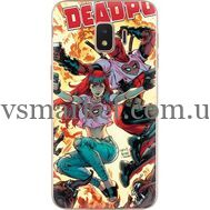 Силиконовый чехол BoxFace Samsung J260 Galaxy J2 Core Deadpool and Mary Jane (35249-up2454)