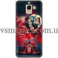 Силиконовый чехол BoxFace Samsung J600 Galaxy J6 2018 Racing Car (33861-up2436)