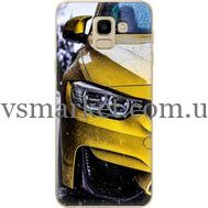 Силиконовый чехол BoxFace Samsung J600 Galaxy J6 2018 Bmw M3 on Road (33861-up2439)