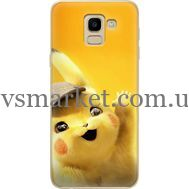 Силиконовый чехол BoxFace Samsung J600 Galaxy J6 2018 Pikachu (33861-up2440)