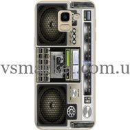 Силиконовый чехол BoxFace Samsung J600 Galaxy J6 2018 Old Boombox (33861-up2446)