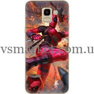 Силиконовый чехол BoxFace Samsung J600 Galaxy J6 2018 Woman Deadpool (33861-up2453)