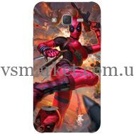 Силиконовый чехол BoxFace Samsung J500H Galaxy J5 Woman Deadpool (25242-up2453)
