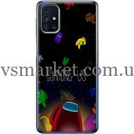 Силиконовый чехол BoxFace Samsung M317 Galaxy M31s Among Us (40942-up2456)