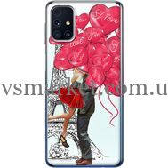 Силиконовый чехол BoxFace Samsung M317 Galaxy M31s Love in Paris (40942-up2460)
