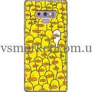 Силиконовый чехол BoxFace Samsung N960 Galaxy Note 9 Yellow Ducklings (34914-up2428)