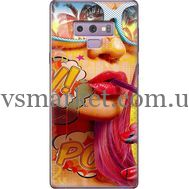 Силиконовый чехол BoxFace Samsung N960 Galaxy Note 9 Yellow Girl Pop Art (34914-up2442)