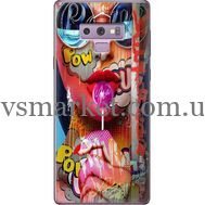 Силиконовый чехол BoxFace Samsung N960 Galaxy Note 9 Colorful Girl (34914-up2443)