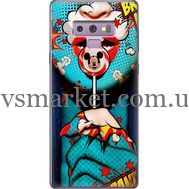 Силиконовый чехол BoxFace Samsung N960 Galaxy Note 9 Girl Pop Art (34914-up2444)