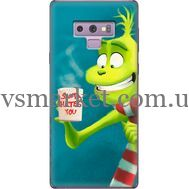 Силиконовый чехол BoxFace Samsung N960 Galaxy Note 9 Santa Hates You (34914-up2449)
