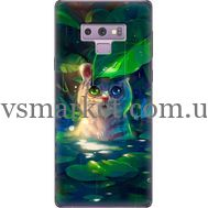 Силиконовый чехол BoxFace Samsung N960 Galaxy Note 9 White Tiger Cub (34914-up2452)