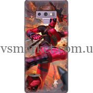 Силиконовый чехол BoxFace Samsung N960 Galaxy Note 9 Woman Deadpool (34914-up2453)