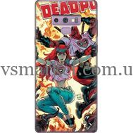 Силиконовый чехол BoxFace Samsung N960 Galaxy Note 9 Deadpool and Mary Jane (34914-up2454)