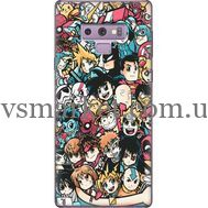 Силиконовый чехол BoxFace Samsung N960 Galaxy Note 9 Anime Stickers (34914-up2458)