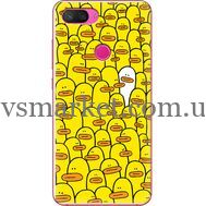 Силиконовый чехол BoxFace Xiaomi Mi 8 Lite Yellow Ducklings (35658-up2428)