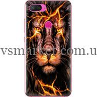 Силиконовый чехол BoxFace Xiaomi Mi 8 Lite Fire Lion (35658-up2437)
