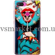 Силиконовый чехол BoxFace Xiaomi Mi 8 Lite Girl Pop Art (35658-up2444)