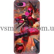 Силиконовый чехол BoxFace Xiaomi Mi 8 Lite Woman Deadpool (35658-up2453)