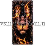 Силиконовый чехол BoxFace Xiaomi Mi 9T / Mi 9T Pro Fire Lion (37376-up2437)