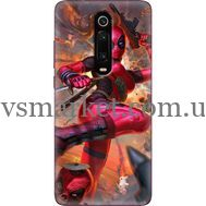 Силиконовый чехол BoxFace Xiaomi Mi 9T / Mi 9T Pro Woman Deadpool (37376-up2453)