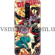 Силиконовый чехол BoxFace Xiaomi Mi 9T / Mi 9T Pro Deadpool and Mary Jane (37376-up2454)
